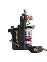 Carved Copper Tattoo Guns 10 Wraps Coil Tattoo Machine  Liner For Tattoo Artist