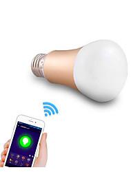 5W E26/E27 Lâmpada de LED Smart A50 24 SMD 5050 600 lm RGB Regulável / Decorativa / WIFI AC 220-240 V 1 pç