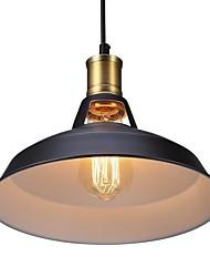 Max 60w lumières pendentif vintage 1 lumière métal salon salle à manger hallway éclairage