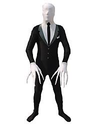 Men's Zentai Suits Formal Suit Plus Disappearing Man Ninja  Cosplay Costumes Leotard Zentai Lycra Halloween Christmas