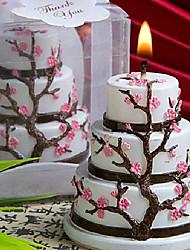 Smokeless Candle Wax Sweet Cherry Cake Shape candle Home Decor