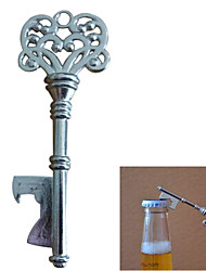 Прибытие ретро старинные металлические пива бутылки открывалка открытия устройства подвеска цепи ожерелье пива бутылки открывалка - 1шт