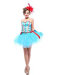 Una Sola Pieza/Vestidos Baile de Máscaras Princesas Cuento de Hadas Cosplay Festival/Celebración Disfraces de Halloween Otros Cosecha