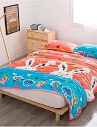 Coral fleece Cartoon Other Blankets