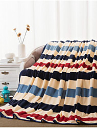 Coral fleece Stripe Other Blankets