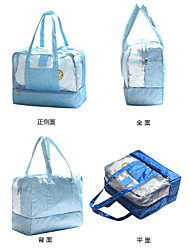 1pc Travel Bag Waterproof Pouch Including Water Bladder for Including Water Bladder PVC Oxford Cloth-Light Pink Light Blue Blushing Pink