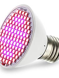 6W E27 Luci LED per la coltivazione 106 SMD 3528 2500-3000 lm Rosso Blu V 1 pezzo