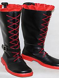 Cosplay Schuhe Cosplay Stiefel RWBY Cosplay Anime Cosplay Schuhe PU - Leder/Polyurethan Leder Kunstleder PU Leder Unisex Erwachsene