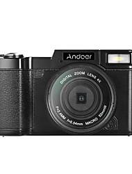 Andoer r1 1080p 15fps cámara hd 24mp cámaras digitales videocámara 3.0 pantalla giratoria lcd anti-sacudida 4x zoom digital linterna