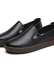 Femme Mocassins et Chaussons+D6148 Confort Semelles Légères Chaussures de plongée Printemps Automne Vrai cuir Cuir Décontracté Habillé
