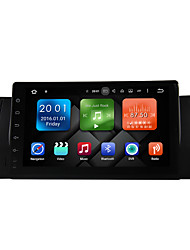 9 pulgadas quad core android 6.0.1 coche multimedia audio gps sistema reproductor 2gb ram construido en wifi&3g DAB ex-TV para BMW E39