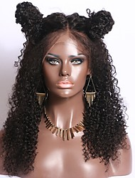 Hot Sale 12-26 Inch 130% Density Kinky Curly 13*6 Lace Front Wig Curly Pre Plucked Hairline Virgin Brazilian Human Hair Wig For Black Women