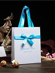50 Titulaire de Faveur-Rectangulaire Papier nacre Sacoches à cadeaux