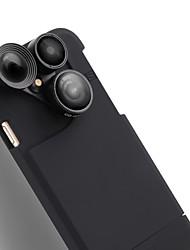 Caméra de téléphone portable purecolor iphone7 plus 5,5 pouces grand angle 0.65x macro 180 oeil de poisson avec lentille externe de