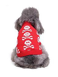 Cane Maglioni Abbigliamento per cani Casual Osso