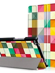 Cubierta de la caja de impresión para lenovo tab4 tab 4 8 tb-8504f tb-8504n 8504 con protector de pantalla