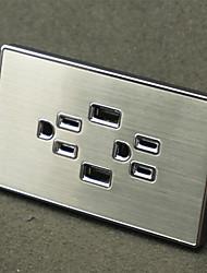 Enchufes electricos PP Con cargador USB Outlet 12*7*4.4