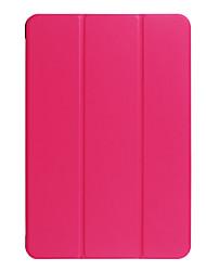 Для футляра для чехлов прозрачный оригами полный корпус корпус сплошной цвет твердый кожа pu для asus трансформатор книга t101ha 10.1