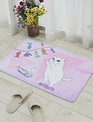 Flannel Bath Mats