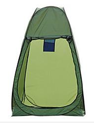 LINGNIU® 1 Persona Tienda Solo Carpa para camping Tienda pop up Mantiene abrigado Impermeable Resistente a la lluvia Filtro Solar