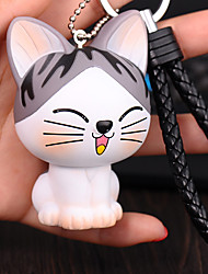 Bag / Phone /  Keychain Charms Cat Cartoon Toy Phone Strap PVC