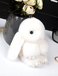 Saco / telefone / chaveiro charme coelho cartoon brinquedo rex coelho pele