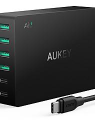 Chargeur USB 6 Ports Station de chargeur de bureau Avec Quick Charge 3.0 Prise US Adaptateur de charge
