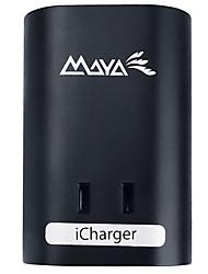 Майя 100u-b us plug usb зарядное устройство 1 розетки 2 порта USB 10a ac 100v-250v