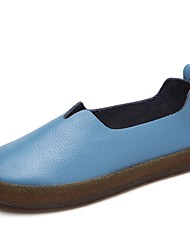 Femme Mocassins et Chaussons+D6148 Confort Chaussures formelles Printemps Automne Vrai cuir Décontracté Habillé Soirée & EvénementTalon