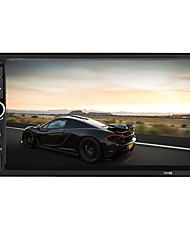 7002 reproductor de video mp5 de radio de coche de 2 din bluetooth autoradio fm usb sd hd pantalla táctil con am rds reproductor de música