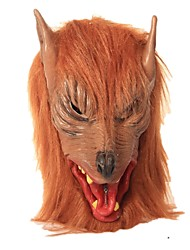 Artigos de Halloween Baile de Máscara Animal Monstros Fantasias Festival/Celebração Trajes da Noite das Bruxas Castanho Vintage Máscaras