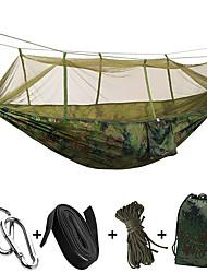 Hamaca para camping Plegable Utra ligero (UL) Nylón para Camping Camping / Senderismo / Cuevas Al Aire Libre