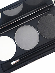 Pro 3 Color Waterproof Eyebrow Powder Kit Earth Tone Color Eye Brow Filler Makeup Palette
