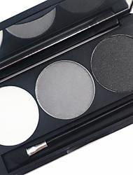 Pro 3 цвет водонепроницаемый брови порошок набор земля тон цвет глаз бровь наполнитель макияж палитра