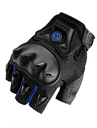 SCOYCO MC29D Motorcycle Gloves Summer Half Finger Racing Gloves Wrestling Breathable Riding Gloves Men'S Equipment