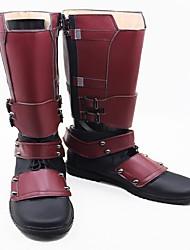 Обувь для косплэй Сапоги для косплея Косплей Косплей Аниме Обувь для косплэй Искусственная кожа/Полиуретановая кожа Полиуретановая кожа