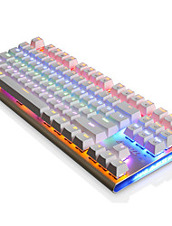Mechanical keyboard / Gaming keyboard USB Black axis Multi color backlit Ajiazz AK40