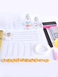 Crab Kingdom® DIY håndlavet krystal epoxy værktøj kit selvmontering simpel type