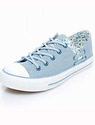 Fashion Women's Comfort Canvas Casual Outdoor Spliced Walking Comfort Leisure Skate Shoes