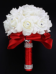 Wedding Bouquet Wedding Flowers Bridal Bouquet Bride Holding Flowers Ribbon Bridesmaid Hand Bouquets Wedding Decoration