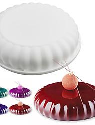 1 шт. Формы для пирожных Круглый Повседневное использованиеДень рождения Своими руками Инструмент выпечки 3D Творческая кухня Гаджет