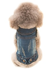 Собака Костюмы Жилет Одежда для собак Косплей ковбой Животные