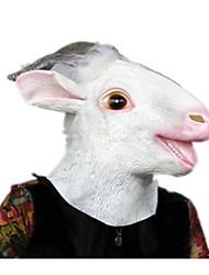 Маски на Хэллоуин Животная маска Овечья шерсть Тема ужаса Универсальные