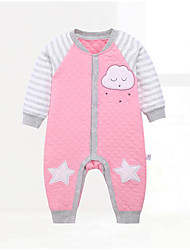 Baby Geometic One-Pieces,Cotton Fall Winter