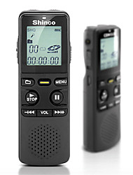 Shinco RV16 Digital Voice Recorder Portable Learning Digital Auto Storage 16GB