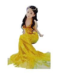 Disfraces de Cosplay Princesas Cola de Sirena Cuento de Hadas Cosplay Festival/Celebración Disfraces de Halloween Cosecha Faldas Tops