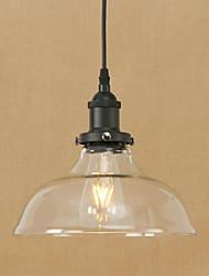 Luzes pingente levou 4w tradicional / clássico / vintage / sala de jantar retro / sala de estudo / escritório / corredor de metal