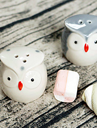 2pcs/Set - Love Birds Salt and Pepper Shakers Wedding Favor Beter Gifts® Door Gifts