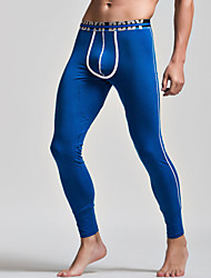 Men's Solid Long Johns