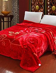 Flanelle Fleur Coton couvertures